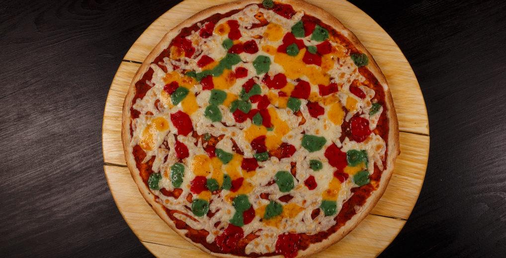 Пицца 4 сыра с Горгонзолой
